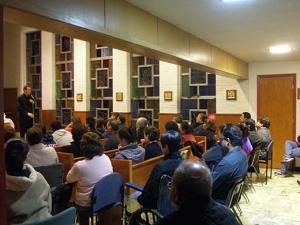 Charlas sobre el misterio de la Iglesia en Hillside. Chicago (USA)