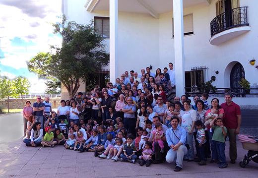 Convivencia de las familias en España, 2015.