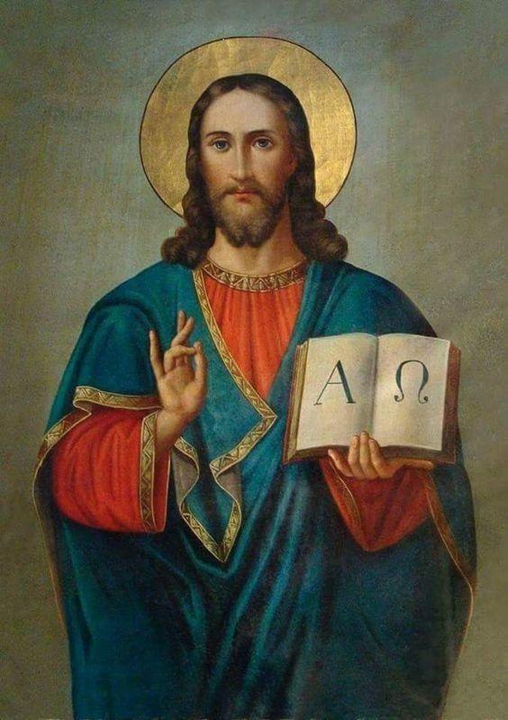 Cristo Alfa y Omega